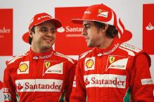 Alonso laughs off team-mate Massa's challenge
