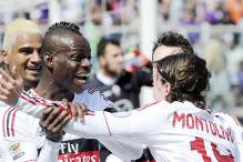 AC Milan draw 2-2 against 10-man Fiorentina in Serie A