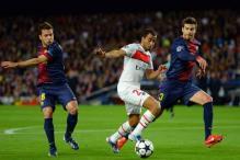 Champions League: Barcelona vs PSG first half  report