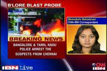 Bangalore blast: Three people arrested in Chennai