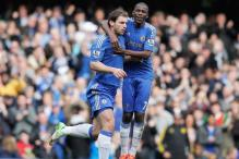 Chelsea beat Sunderland 2-1, move to 3rd spot in EPL