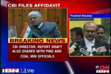 CBI's affidavit on coal scam says agency shared report with Law Min