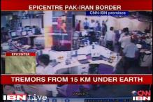 Watch: Earthquake jolts CNN-IBN office in Noida, UP