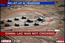 China sticks to its stand; says no incursion by its troops