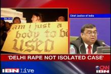 Delhi gangrape wasn't an isolated incident, says CJI Altamas Kabir