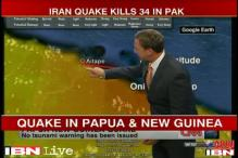 6.8 magnitude earthquake shakes Papua New Guinea