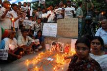 Artists protest against rapes, oppose death penalty