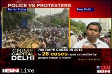 Watch: Protests over minor's rape in Delhi build up