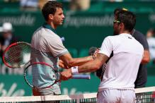 Dimitrov upsets 8th-seeded Tipsarevic in 2nd round at Monte Carlo