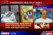 Blame the rotten system for railways' filthy catering: Dinesh Trivedi