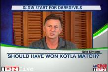 Eric Simons positive despite Delhi Daredevils' poor start in IPL 6