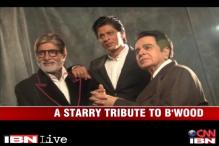 100 years of cinema: Dilip Kumar, Big B, SRK strike a pose