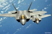 US F-22 stealth jets join South Korea military drills