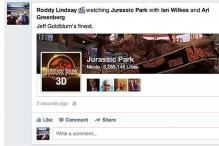 Facebook letting users add activity to status updates