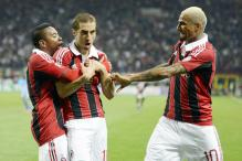 10-man AC Milan draw 1-1 against Napoli in Serie A