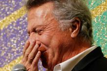 Snapshot: Dustin Hoffman weeps during film premiere