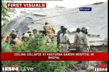 Bhopal: Hospital ward ceiling collapses, many trapped
