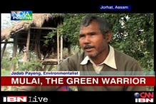 Assam: Green warrior Jadab Payeng plants trees at isolated sand bar