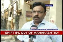 Maharashtra: BJP leader objects to use of water for IPL