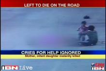 Watch: Motorists, passersby ignore man's cries for help after accident