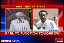 Parliament will function tomorrow, will discuss financial bills: Kamal Nath