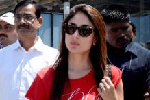 Snapshot: Kareena, Amitabh shooting for 'Satyagraha'