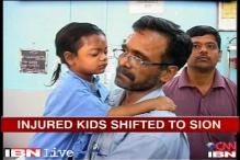 Thane building collapse: 2 rescued children moved to Sion hospital