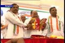 Karnataka elections: Congress releases manifesto