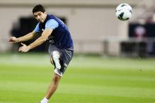 FIFA probe Uruguay's Suarez for Jara 'punch'