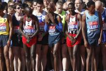 London marathoners remember Boston victims