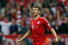 Muller scores twice as Bayern thrash Barcelona 4-0
