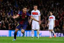 Barcelona draw 1-1 at Nou Camp, make it to semis on away goals