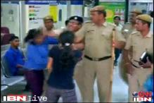 Delhi rape: Case against policeman for slapping protester