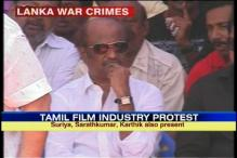 SL war crimes: Rajinikanth joins Tamil film industry's protest