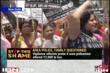 Delhi rape: BJP women activists protest outside Sonia's residence