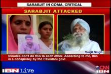 Sarabjit's ex-inmate says attack on him is a conspiracy by Pakistan govt