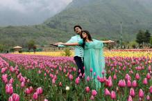 Snapshot: Radhika, Aditya shoot in Kashmir
