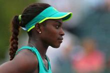 American Sloane Stephens opens Fed Cup vs Sweden