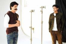 Snapshot: Shah Rukh Khan sports a handlebar mustache for MARD campaign