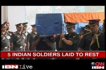 5 Indian soldiers killed in Sudan laid to rest with full state honours