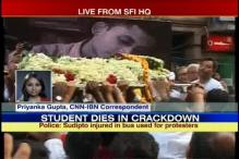 SFI activist death: Family to meet WB Governor