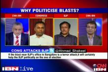 Bangalore blast: Can Politicians stay out?
