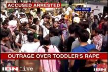 Delhi: Anger erupts in Delhi against police in minor's rape case