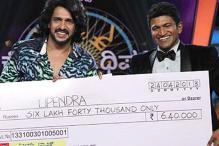 Kannada actor plays 'Kannadada Kotyadipathi'
