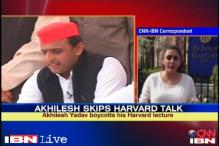 SP hails Akhilesh Yadav for calling off Harvard trip