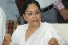 Vasundhara Raje accuses Congress of 'caste politics'