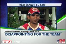 Last ball loss to CSK was disappointing: Venkatesh Prasad