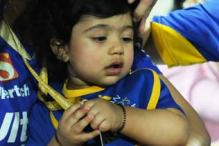 Cute! Shilpa Shetty and Raj Kundra's son Viaan out in public for the first time at IPL match