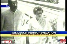 Indira Gandhi offered nuke technology to Pak: WikiLeaks