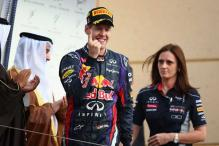 Red Bull become the first F1 team to put a woman on podium